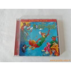 """CD """"Robin des bois"""" l'histoire du film + chansons Disney"""