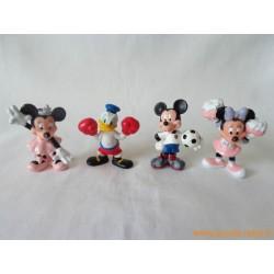 Lot figurines Disney Sport