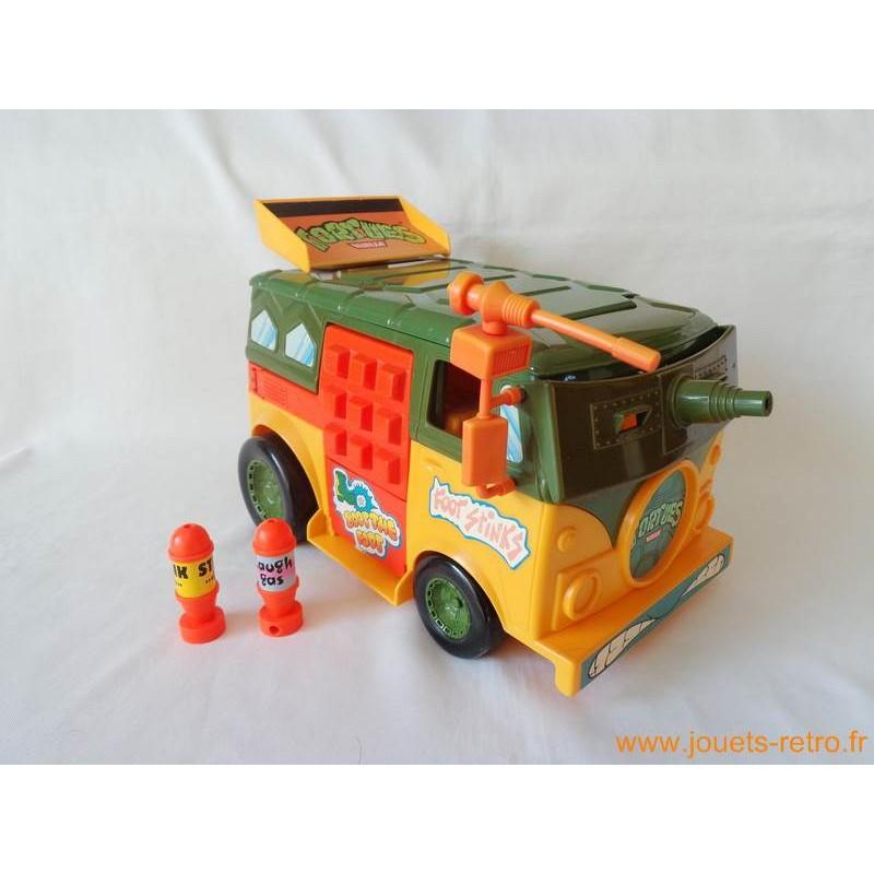 Party Wagon Van - Les Tortues Ninja 1989 - jouets rétro jeux de ...