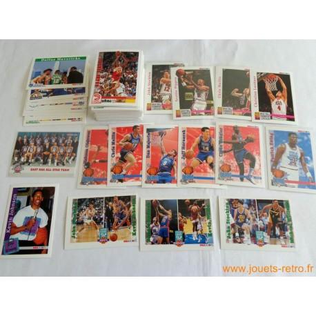 Lot cartes NBA Hoops Skybox 1992 - 93 série 1