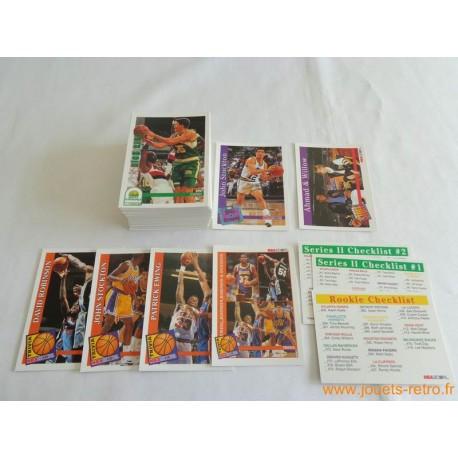 Lot cartes NBA Hoops Skybox 1992 - 93 série 2