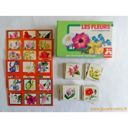 "Loto ""Les fleurs"" Nathan 1976"