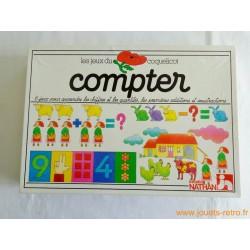 """Les jeux du coquelicot """"compter"""" Nathan 1981"""