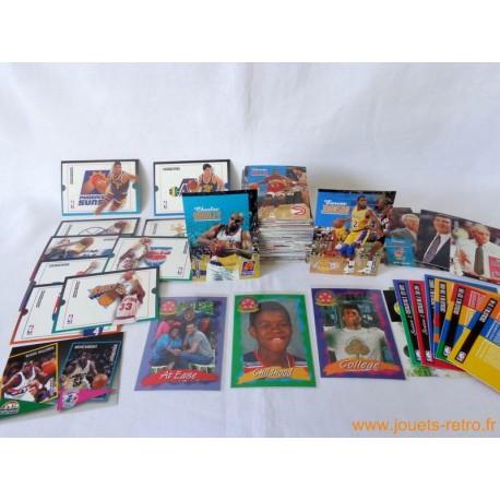 Lot cartes NBA Skybox 1992-93 série 1 et 2