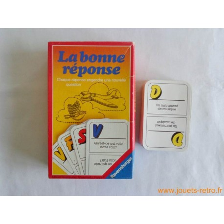 La bonne réponse - jeu Ravensburger 1985