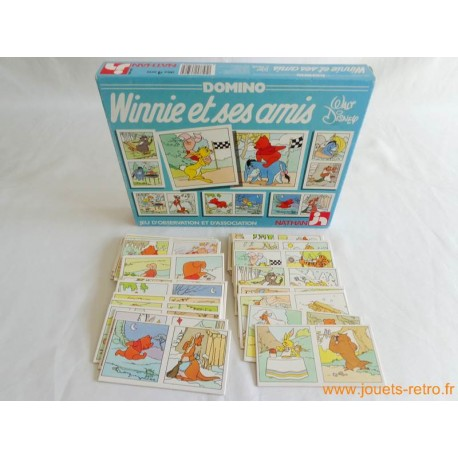 "Domino ""Winnie et ses amis"" jeu Nathan 1988"