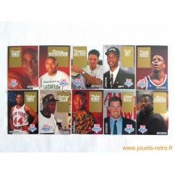 Lot 10 cartes Draft NBA Skybox 1993