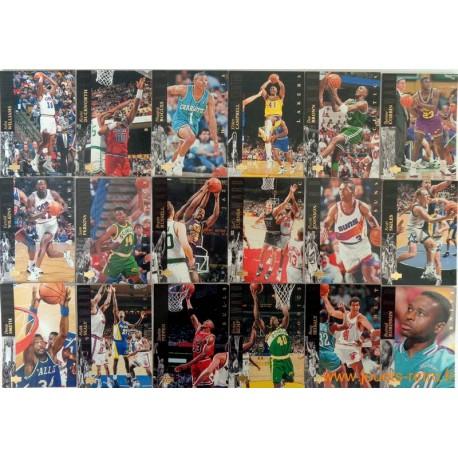 Lot 30 cartes NBA Upper Deck 1994