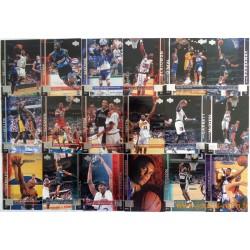 Lot 46 cartes NBA Upper Deck 98-99