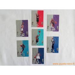 Lot 7 cartes NBA Upper Deck Collector's Choice 98 Miniatures