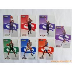 Lot 7 cartes NBA Upper Deck Collector's Choice 98 Star Quest