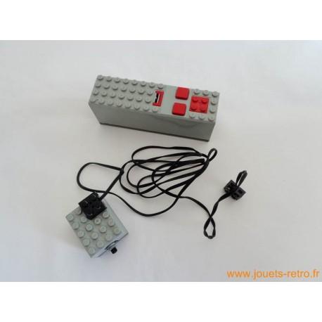 Télécommande + moteur Lego