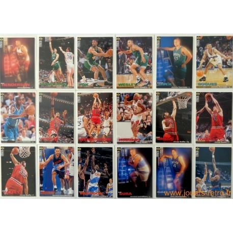 Lot 122 cartes NBA Upper Deck Collector's Coice 95-96 série 2