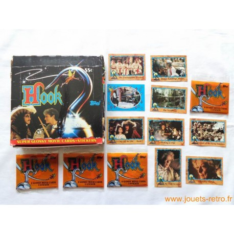 "1 paquet de cartes ""Hook"" Topps 1991"