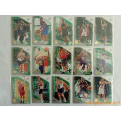 Lot 15 cartes NBA Upper Deck SPX ROOKIE 2000-01