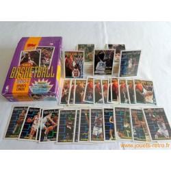 Set cartes NBA Topps 1993-94 série 2 + boite