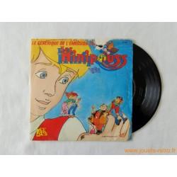 Les Minipouss - disque 45t