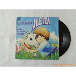 La chanson d'Heidi - disque 45t