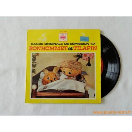 bonhommet et tilapin - disque 45t