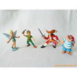 "Lot figurines ""Peter Pan"" Bully"