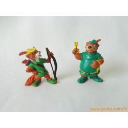 "Lot figurines ""Robin des bois"" Bully"