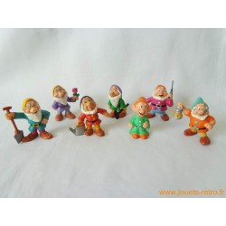 "Lot figurines ""Sept nains"" Bully"