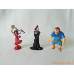 "Lot figurines ""Le Bossu de Notre Dame"""