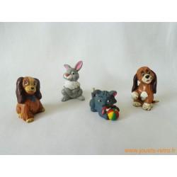 "Lot figurines ""Animaux Disney"" Bully"