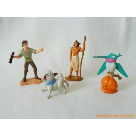 "Lot figurines ""Pocahontas"""