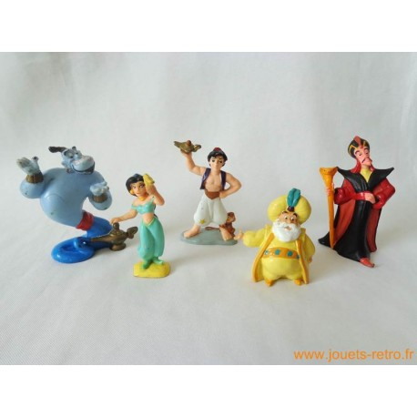 "Lot figurines ""Aladdin"" Bully"