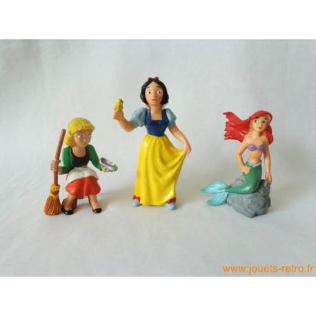"Lot figurines ""Princesse Disney"" Bully"