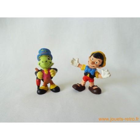 "Lot figurines ""Pinocchio"" Bully"