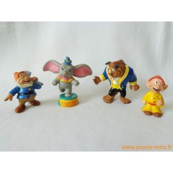 """Lot figurines """"divers Disney"""" Bully"""