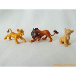 """Lot figurines """"Le Roi Lion"""""""