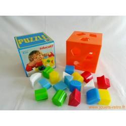 Cube puzzle éducatif Superjouet