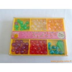 Perles cristal vintage Simex