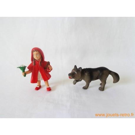 """Lot figurines """"Le petit chaperon rouge"""""""