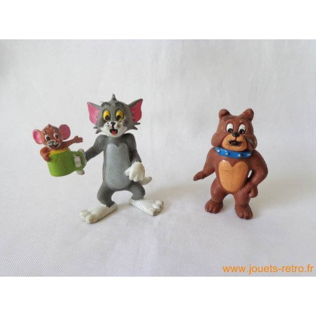 "Lot figurines ""Tom et Jerry"""