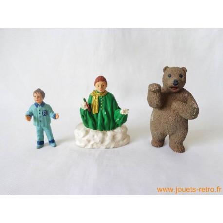 """Lot figurines """"bonne nuit les petits"""""""