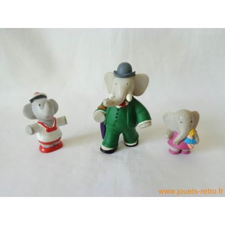 "Lot figurines ""Babar"""
