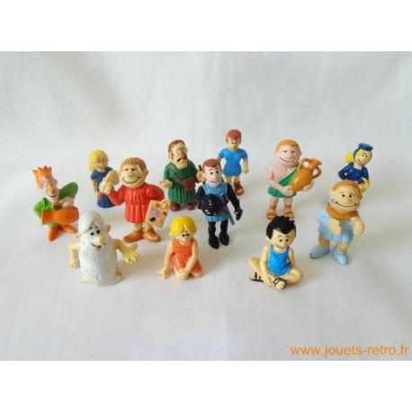 """""""Il était une fois l'homme"""" lot figurines EDIGRAFIC"""