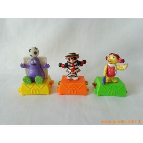 "Lot jouets ""Happy Meal"" Mc Donald's"