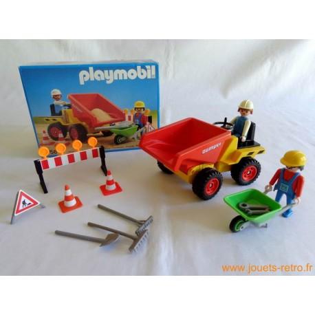"""""""Camion à benne"""" Playmobil 3756"""