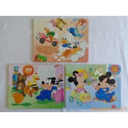 """lot 3 puzzles """"Disney Baby"""""""