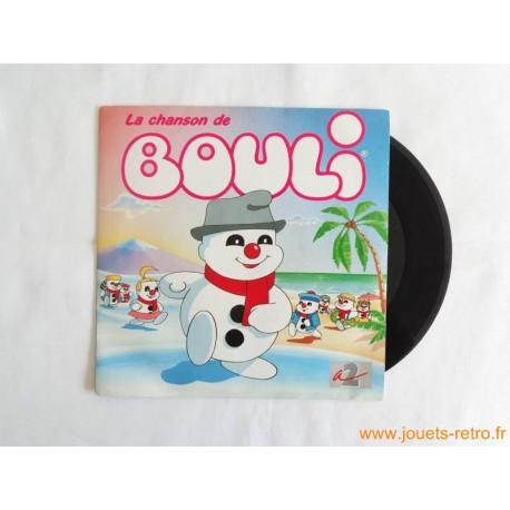 La chanson de Bouli - 45T disque vinyle