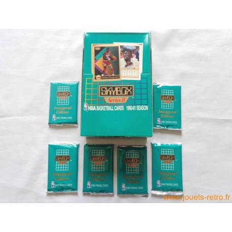 Paquet cartes NBA Skybox 1990/91 Basketball série 2