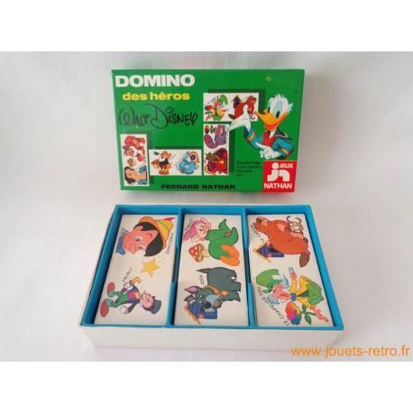 Domino des héros Walt Disney Nathan 1977