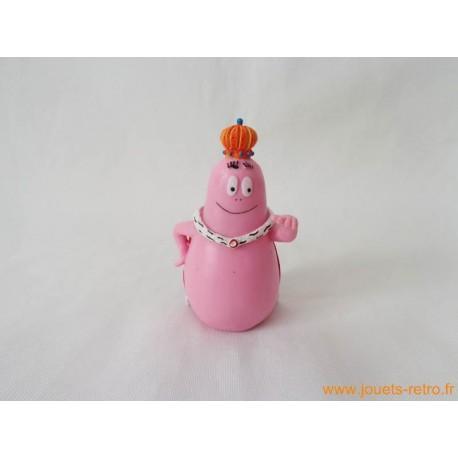 "figurine ""Barbapapa roi"""