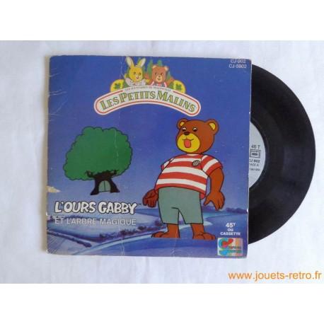 L'ours Gabby et l'arbre magique - Livre disque 45t