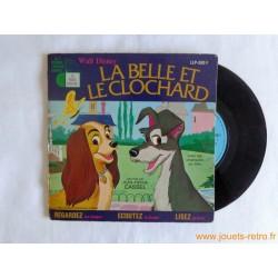 La Belle et le Clochard - Livre disque 45t